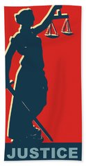 Lady Justice Hand Towel