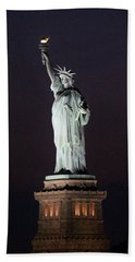Lady Liberty Bath Towel