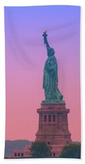 Lady Liberty, Standing Tall Hand Towel