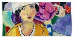 Lady Of Le Piviones Bath Towel