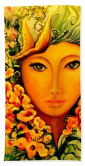 Lady Sring Bath Towel