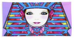 Hand Towel featuring the photograph Lady Tut #191 by Barbara Tristan