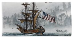 Lady Washington Hand Towel by James Williamson