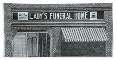 Lady's 1934 Bath Towel