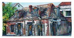 Lafitte's Blacksmith Shop Bath Towel