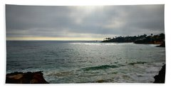 Laguna Beach Sunset Hand Towel by Glenn McCarthy Art and Photography