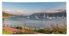 Gulf Of  Ullapool  - Photo Bath Towel by Sergey Simanovsky