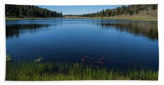 Laguna Meadow Lake Hand Towel