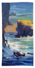 Laguna Rocks Bath Towel