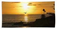 Laguna Sunset Bath Towel