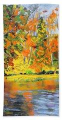 Lake Aerofloat Fall Foliage Bath Towel