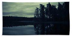 Lake By Night Hand Towel