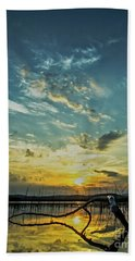 Hand Towel featuring the photograph Lake Champlain Vermont Sunrise - 2 Portrait by James Aiken