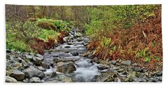 Lake District Autumn Stream Hand Towel