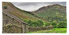Lake District Fells Near Grasmere Bath Towel