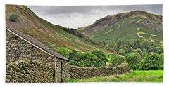 Lake District Fells Near Grasmere Hand Towel