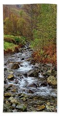 Lake District Mountain Stream Hand Towel