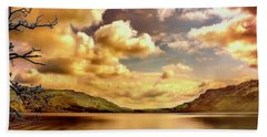 Bath Towel featuring the photograph Lake District Uk by Wallaroo Images