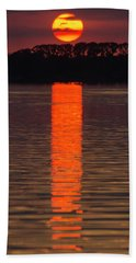 Lake Dora Sunset Hand Towel