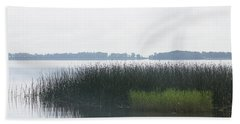Lake Grasses Bath Towel