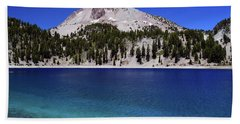 Hand Towel featuring the photograph Lake Helen Mount Lassen 2 by Frank Wilson