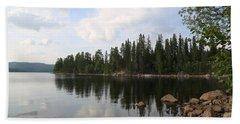 Lake In The Woods Bath Towel
