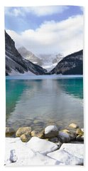 Lake Louise Beauty Hand Towel by Andrea Hazel Ihlefeld