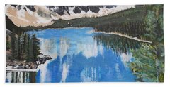 Lake Louise  Hand Towel by Francine Heykoop
