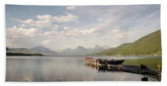 Lake Mcdonald Bath Towel