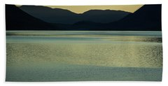 Lake Mcdonald Sunset Bath Towel