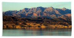 Lake Mead Before Sunset Hand Towel