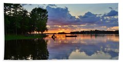 Lake Murray Sc Reflections Bath Towel