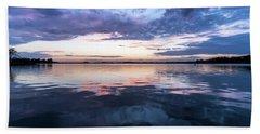 Lake Norman, North Carolina Sunset Bath Towel