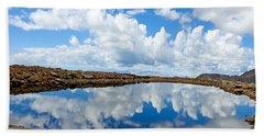 Lake Of The Sky Hand Towel
