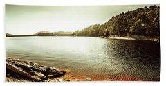 Lake Pieman, West Tasmania Hand Towel