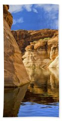 Lake Powell Stillness Hand Towel