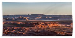 Lake Powell Sunrise Panorma Hand Towel