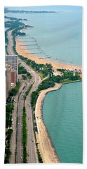 Lake Shore Dr . Chicago Bath Towel