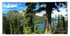 Lake Tahoe Serenity Bath Towel