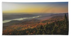 Lake Tremblant At Sunset Hand Towel