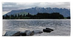 Hand Towel featuring the photograph Lake Wanaka,queenstown, New Zealand by Yurix Sardinelly