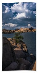 Lake Watson Prescott Arizona 2498 Hand Towel