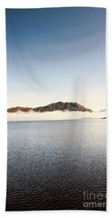 Lakes In Morning View Hand Towel
