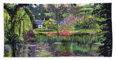 Lakeside Giverny Hand Towel