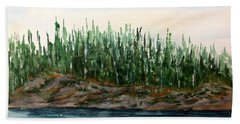 Lakeside No. 1 Lake Of The Woods Hand Towel