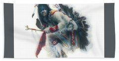 Lakota Dancer Bath Towel