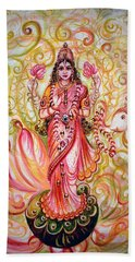 Lakshmi Darshanam Bath Towel by Harsh Malik