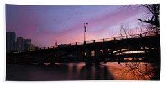 Lamar Blvd Bridge Hand Towel