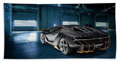 Lamborghini Centenario Lp 770-4 Bath Towel