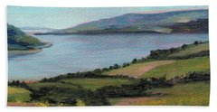 Lamlash - Facing Holy Isle Hand Towel